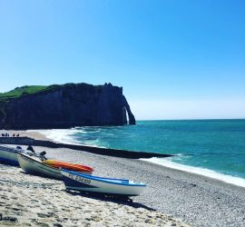 photo plage etretat 23 mai 2016